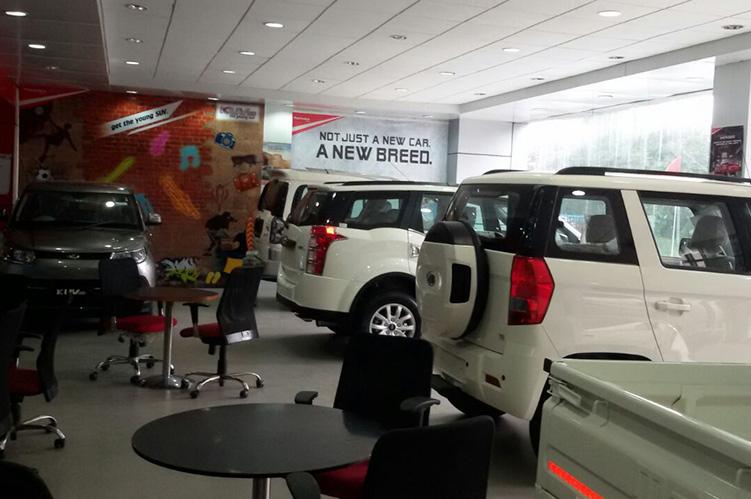 Dada Motors Mahindra Mahindra Dealers And Showrooms In Ludhiana - Car showroom